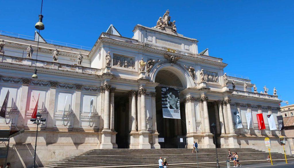 Palazzo delle Esposizioni in Rome, Italy