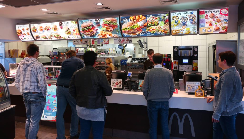 McDonald's in Berlin, Germany