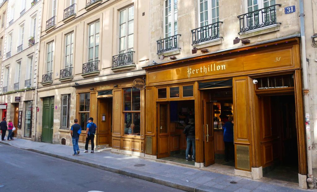 Berthillon in Paris, France