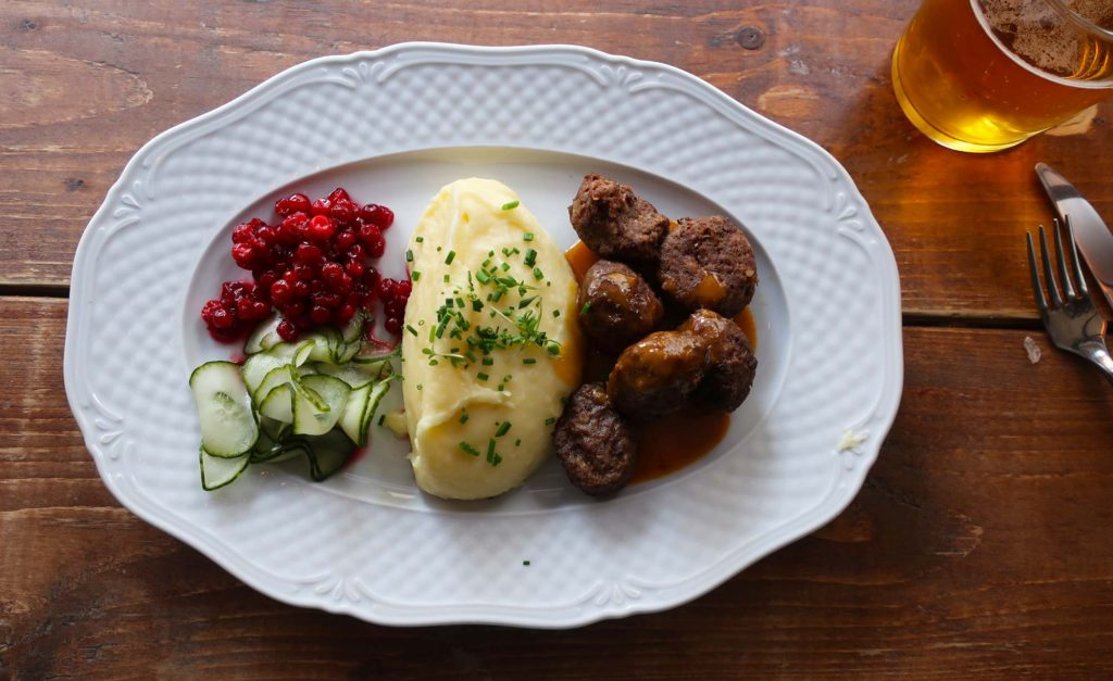 Swedish meatballs from Meatballs for the People