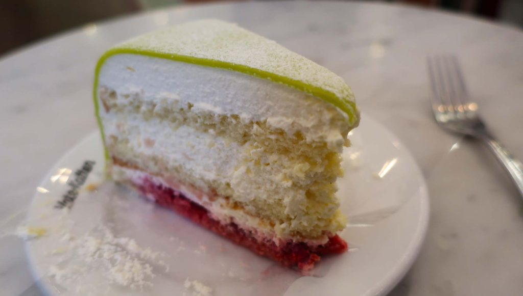 Princess cake from Vete-Katten in Stockholm, Sweden