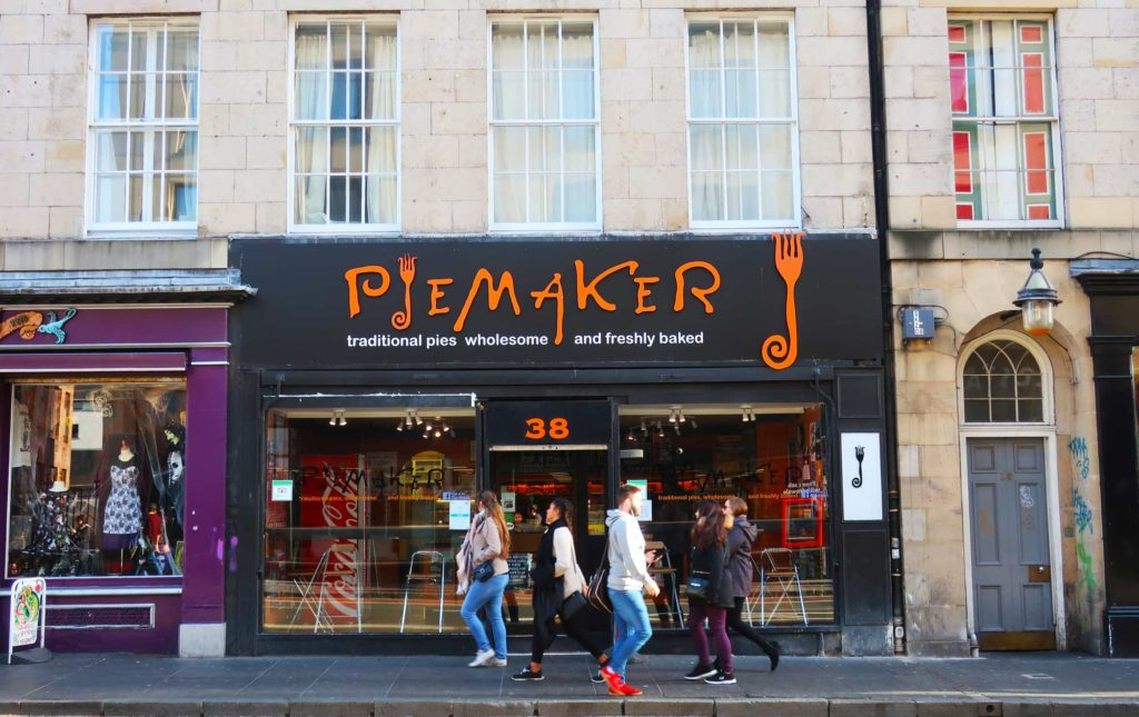 Piemaker in Edinburgh, Scotland