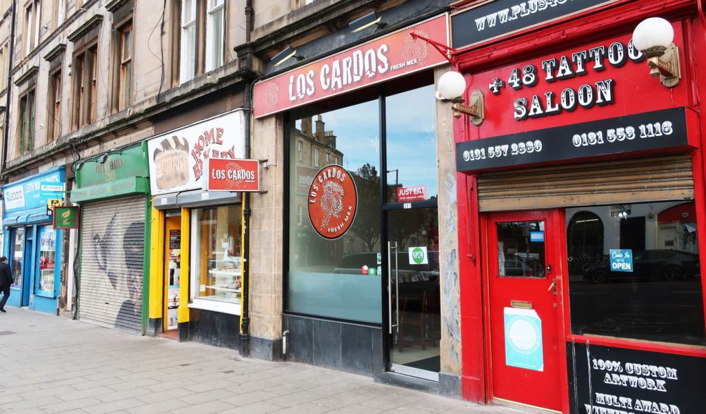 Los Cardos in Edinburgh, Scotland