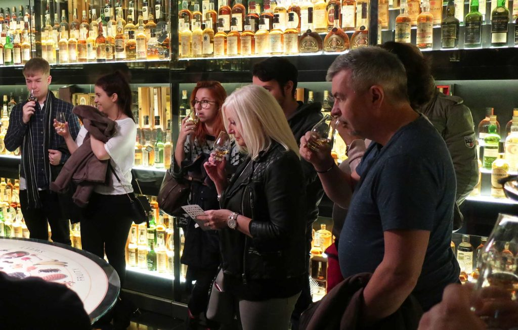 The Scotch Whisky Experience in Edinburgh, Scotland