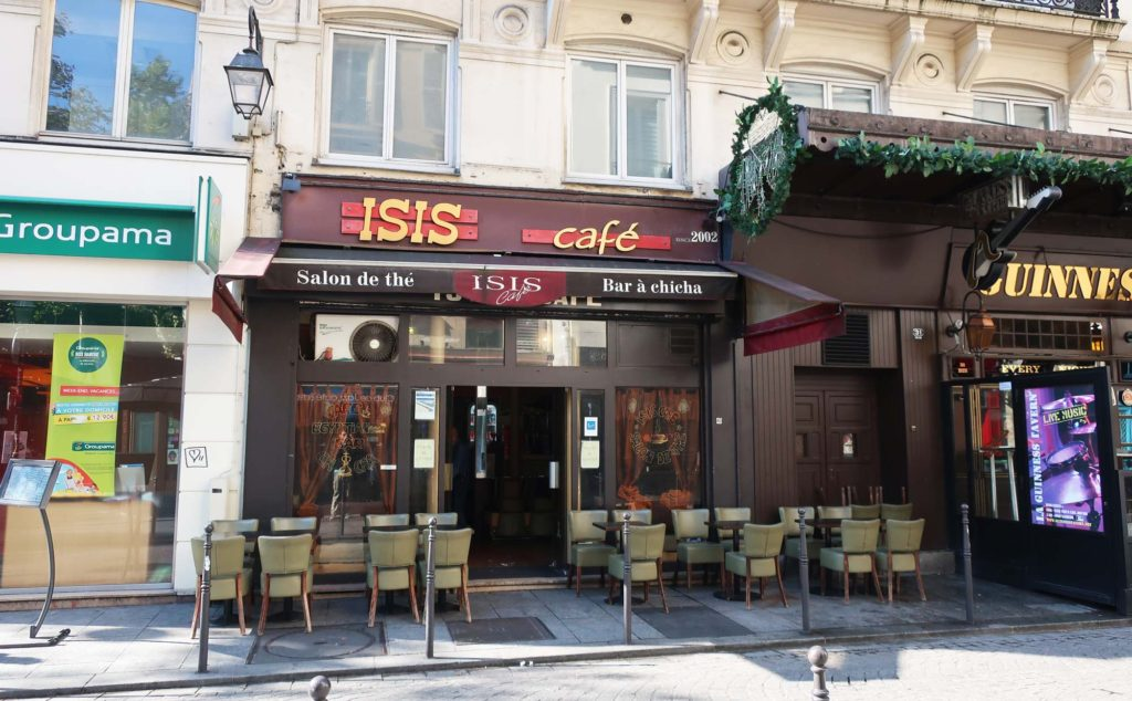 Isis Cafe in Paris, France
