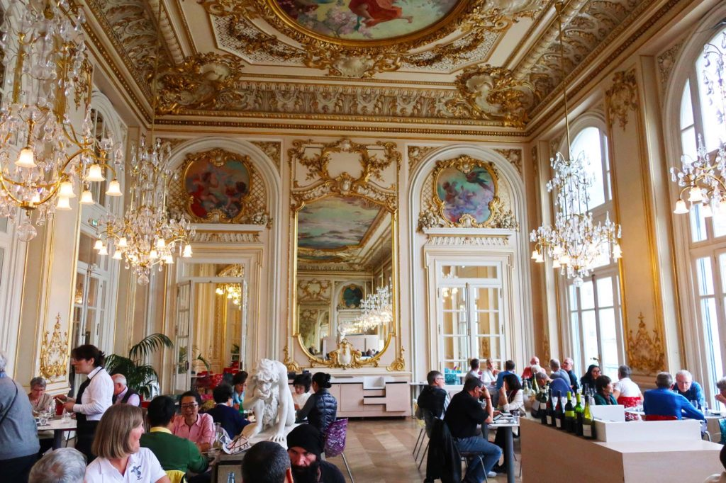 Restaurant in the Musée d'Orsay in Paris, France
