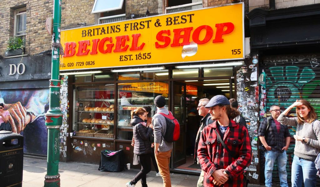 Beigel Shop in London, England