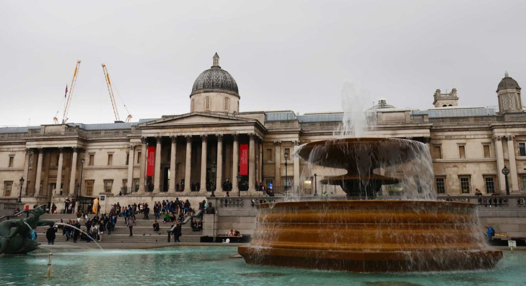 National Gallery in London, England
