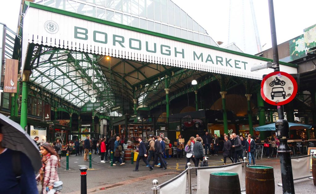 Borough Market in London, England