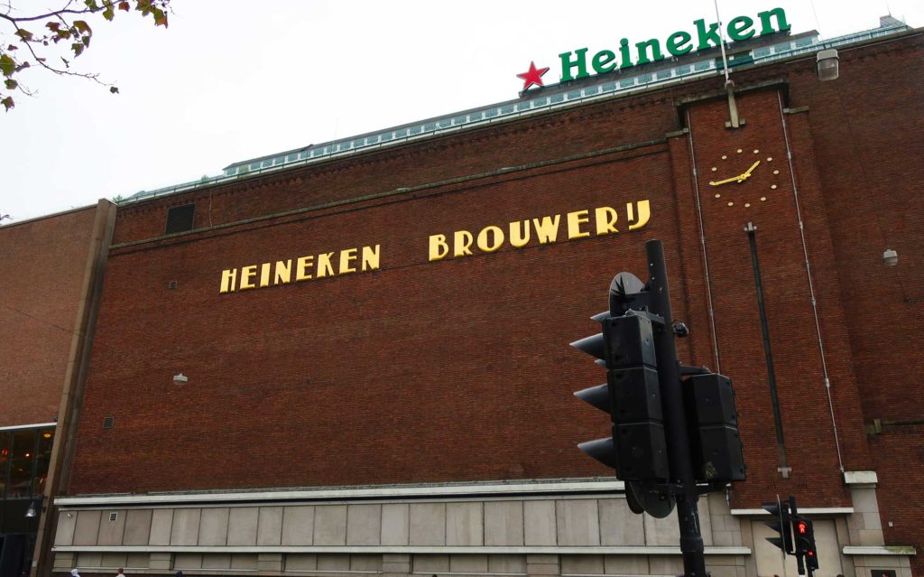 The Heineken Experience in Amsterdam, Netherlands