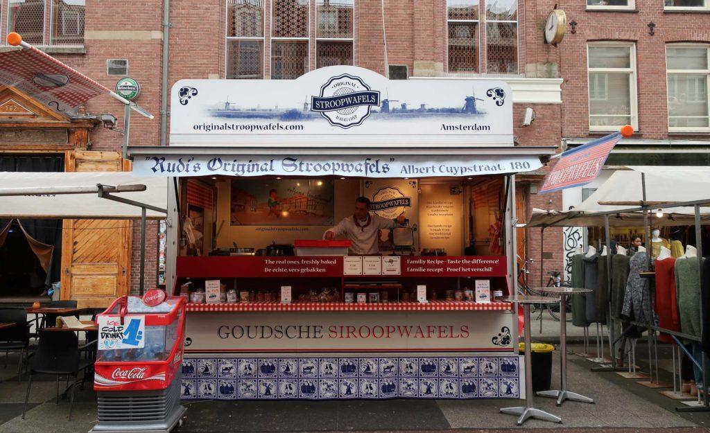 Original Stroopwafels in Amsterdam, Netherlands