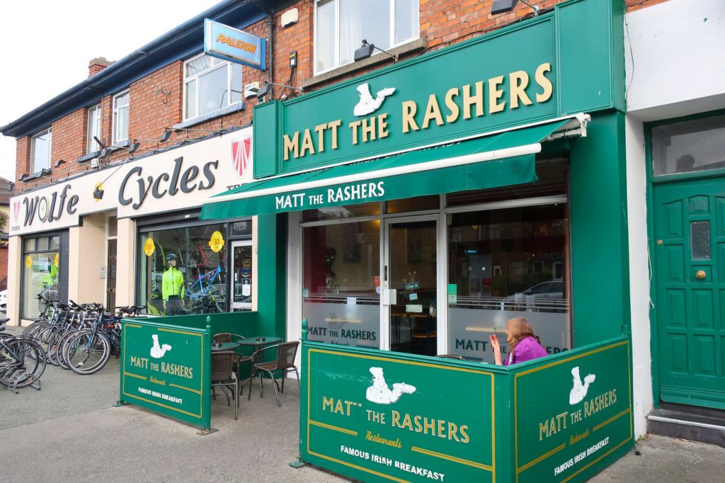 Matt the Rashers in Dublin, Ireland