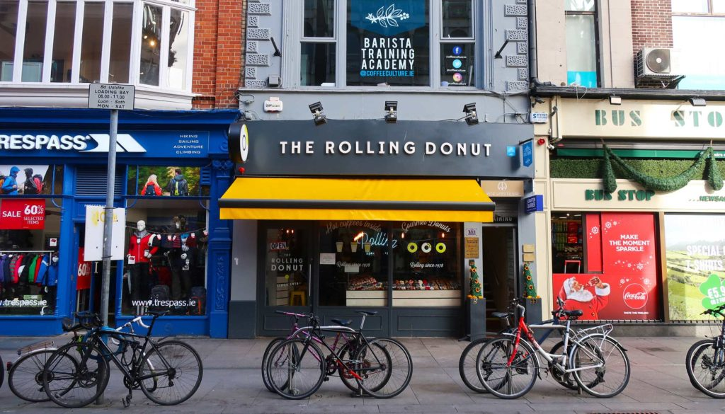 The Rolling Donut in Dublin, Ireland