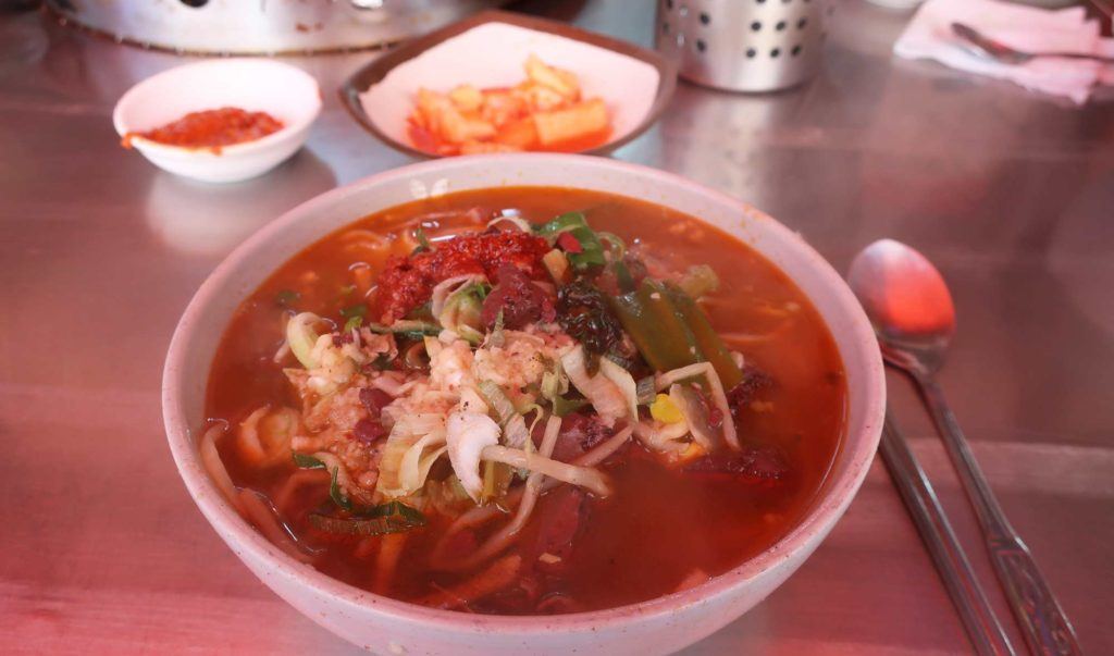 Stew in Busan, South Korea