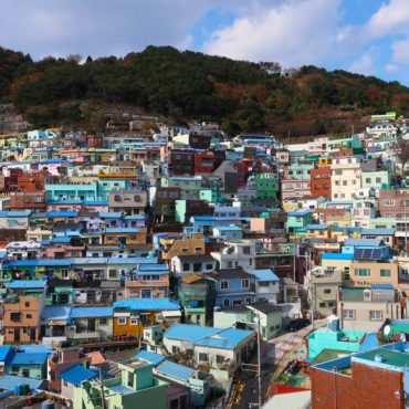 Colours Aplenty at the Gamcheon Culture Village