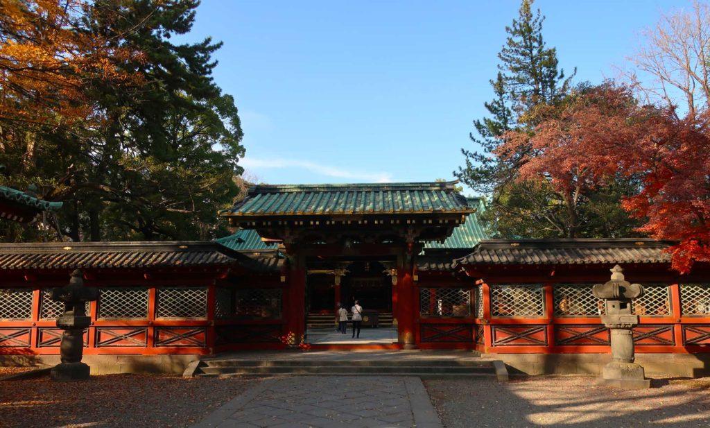 Nezu Shrine in Tokyo, Japan