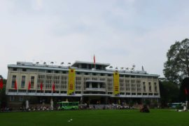 Independence Palace in Ho Chi Minh, Vietnam