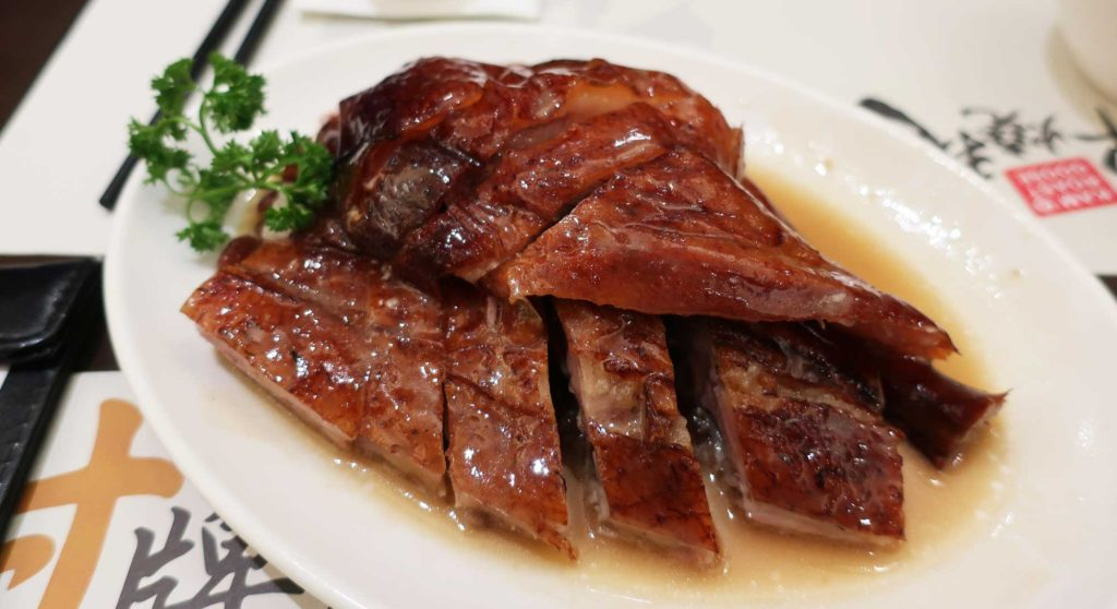 Michelin-starred roast goose in Hong Kong