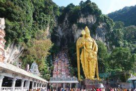 Batu Caves in Kuala Lumpur, Malaysia
