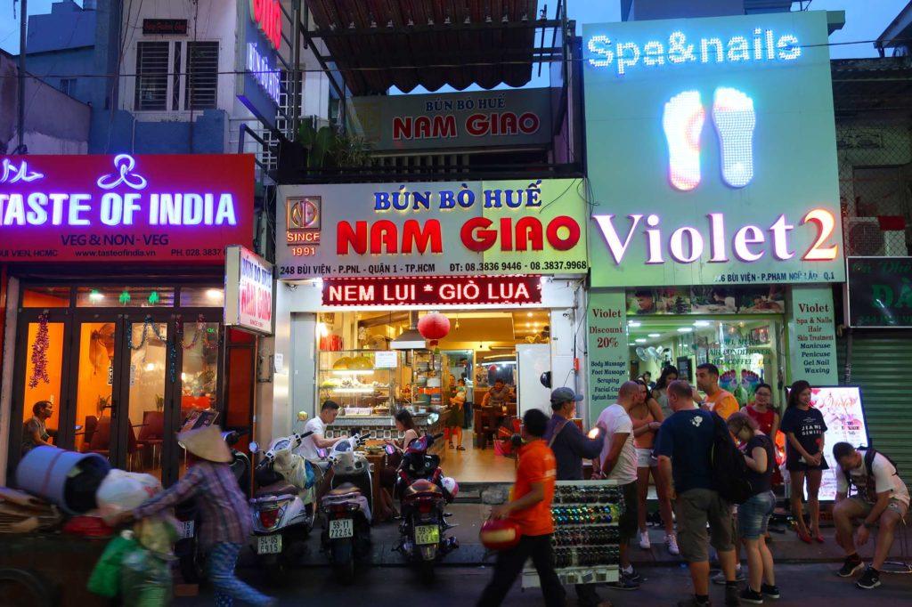 Bun Bo Hue Nam Giao in Ho Chi Minh, Vietnam