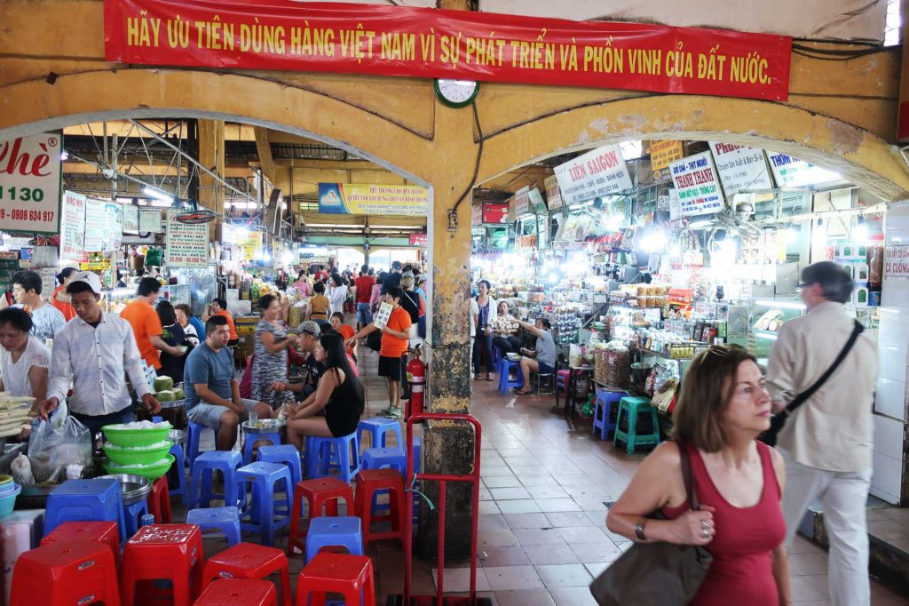 Ben Thanh market in Ho Chi Minh