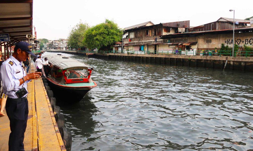 Speedboat / public transit in Bangkok, Thailand