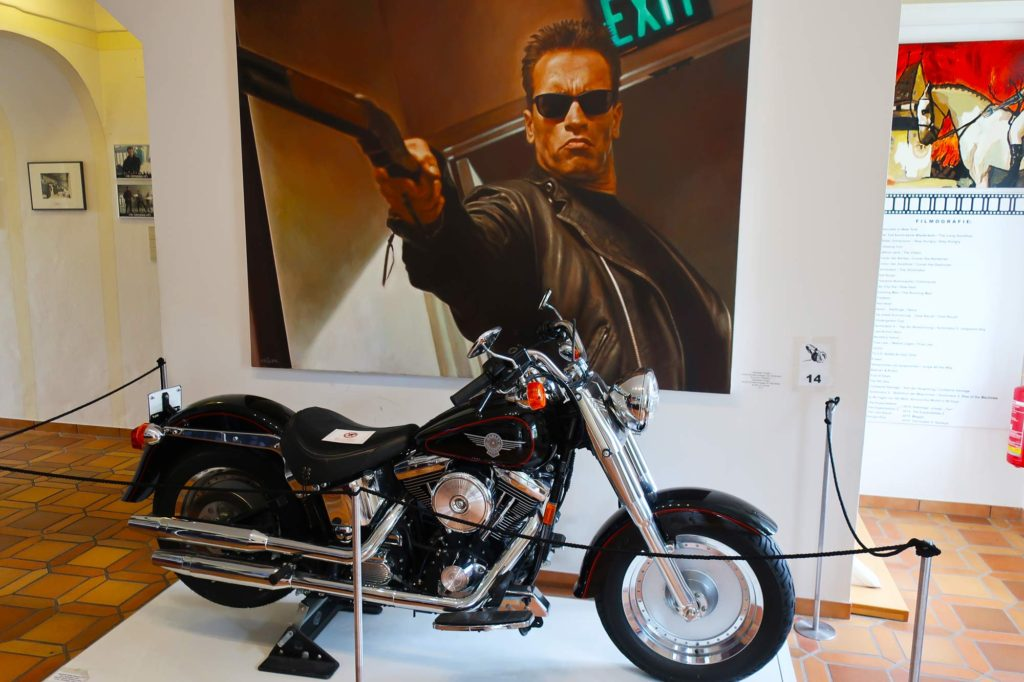 Motorcycle from T2