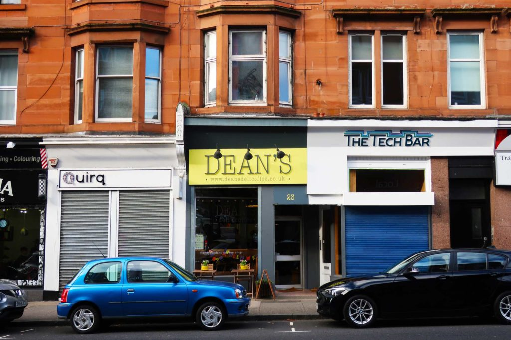 Dean's in Glasgow, Scotland