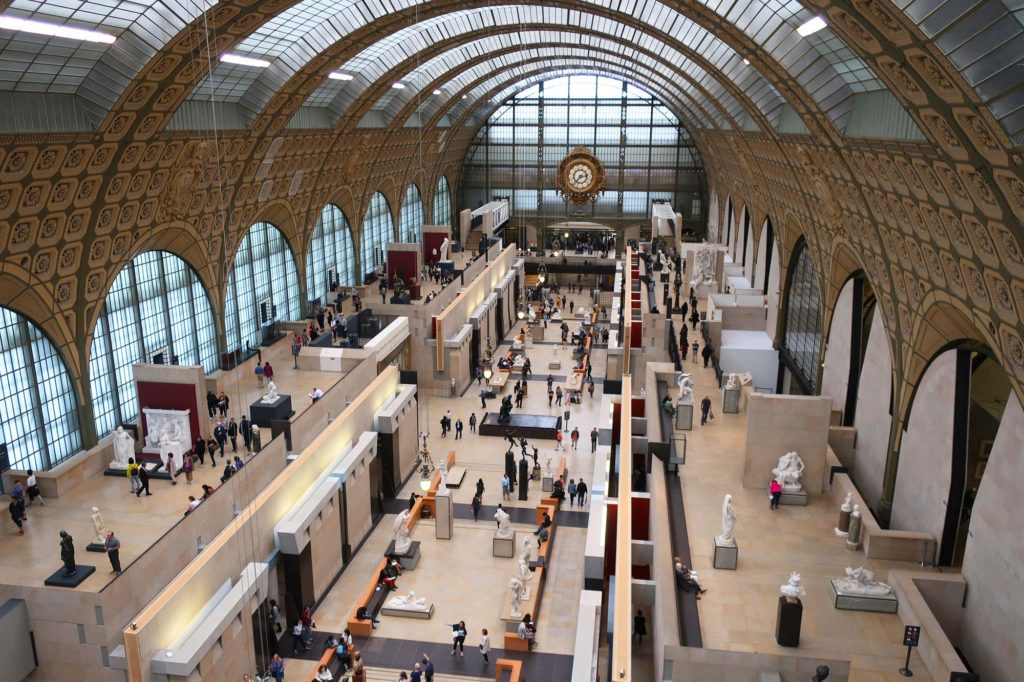 Musée d'Orsay in Paris, France