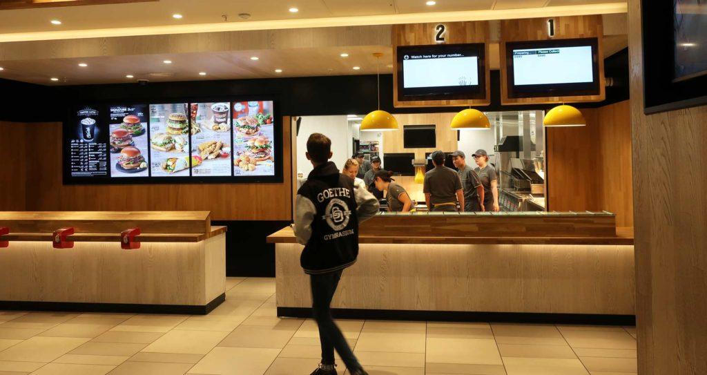 McDonald's in London, England