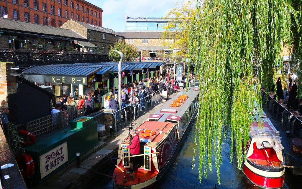 Camden Market in London, England