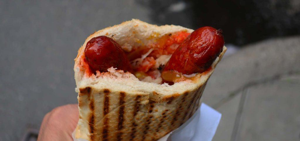 Sausage from Östermalms Korvspecialist
