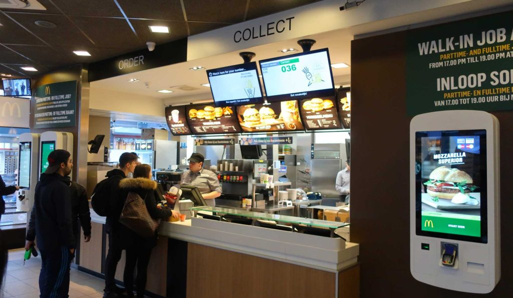 McDonald's in Amsterdam, Netherlands