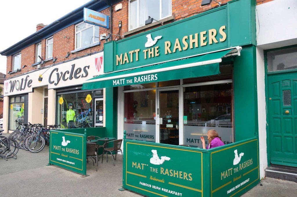 Matt the Rashers in Dublin, Ireland
