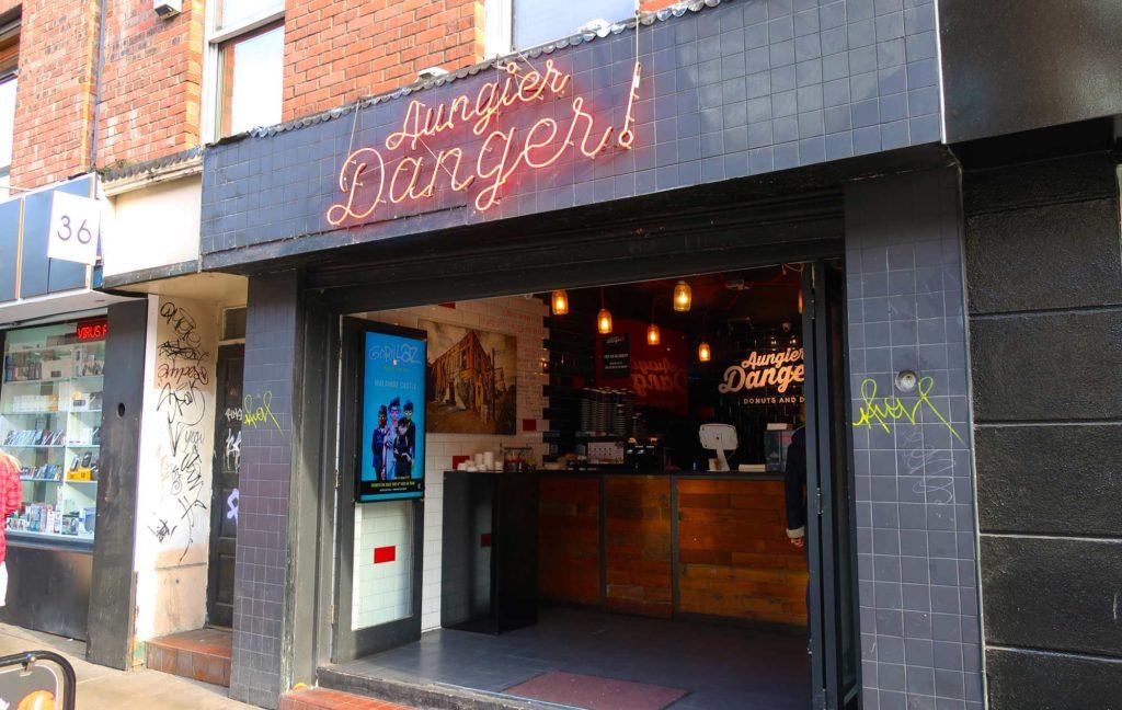 Aungier Danger in Dublin, Ireland
