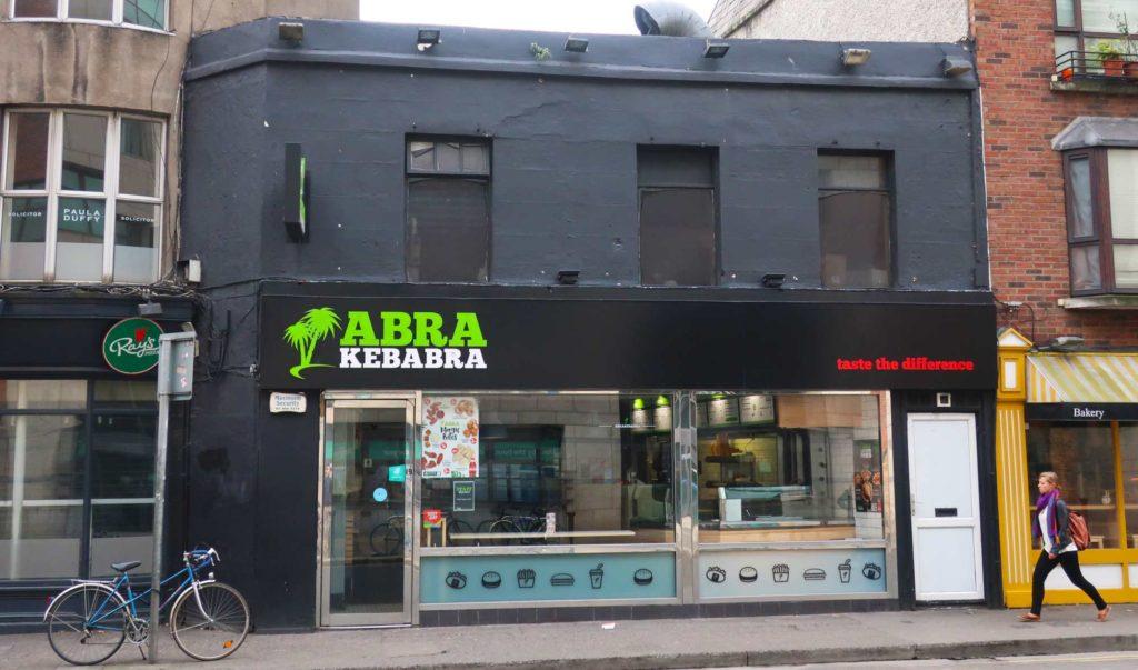 Abra Kebabra in Dublin, Ireland