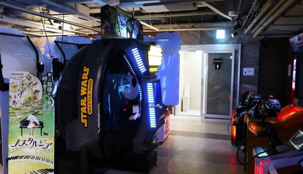 Sega Arcade in Tokyo, Japan