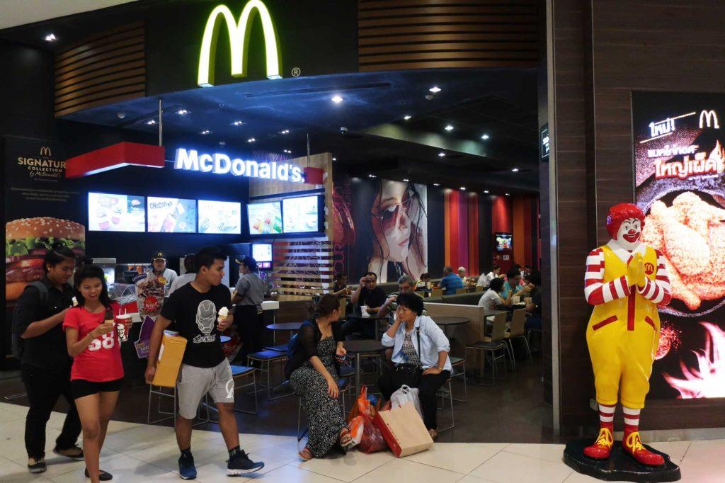 McDonald's in Bangkok, Thailand
