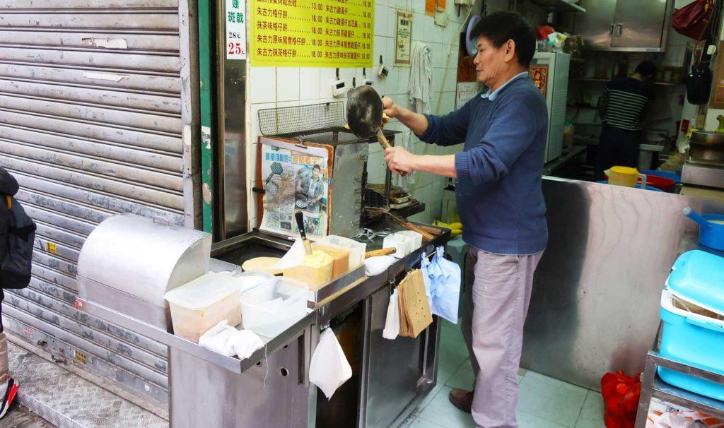 Mango pancakes in Hong Kong