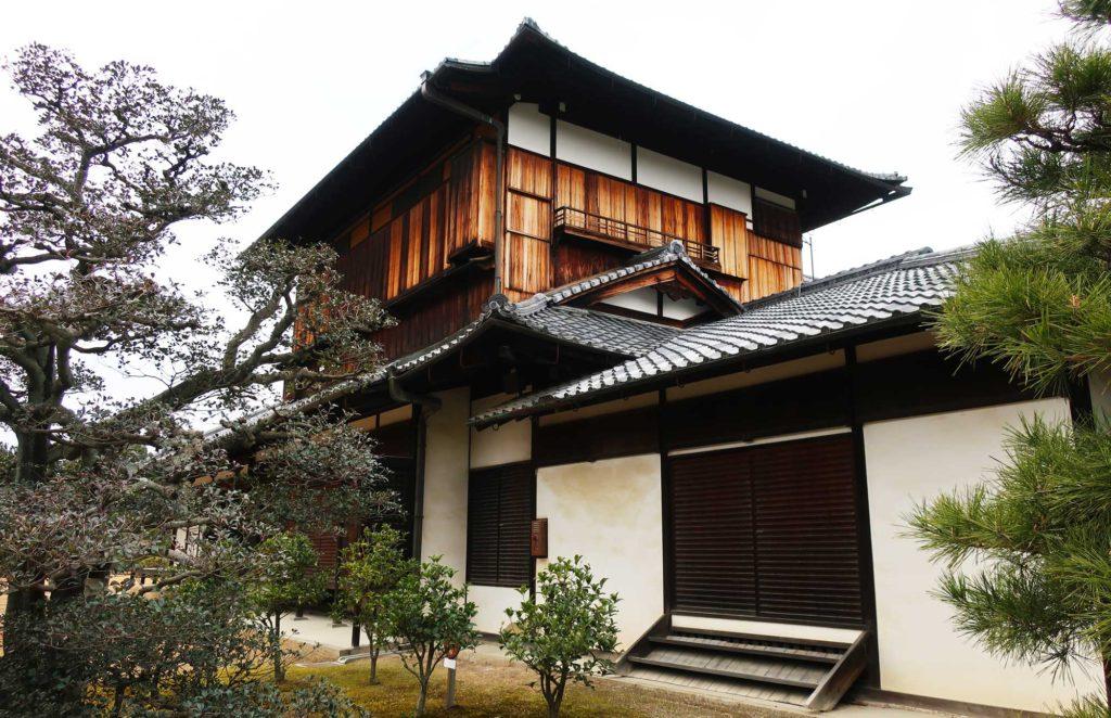 Nijo Castle in Kyoto, Japan