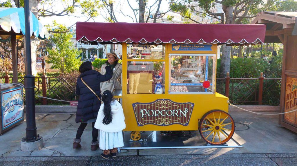 Disney food in Tokyo, Japan