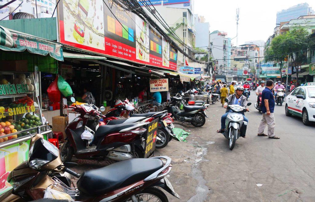 Market in Ho Chi Minh, Vietnam