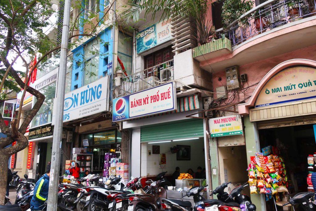 Banh mi in Vietnam