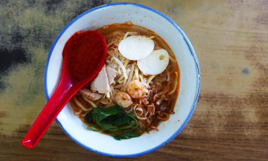 Hakkien Prawn Mee at Kafe Ping Hooi