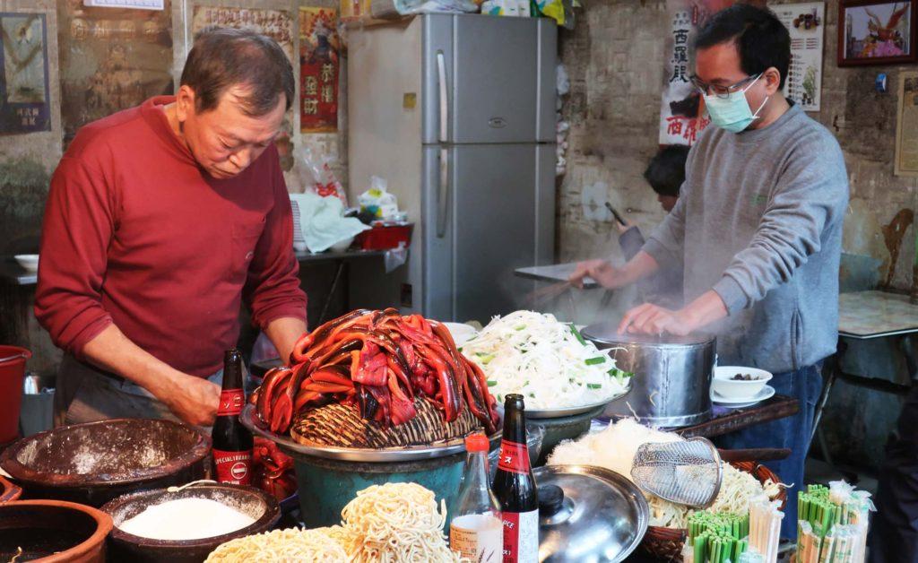 A Jiang Stir-Fried Eel Noodles