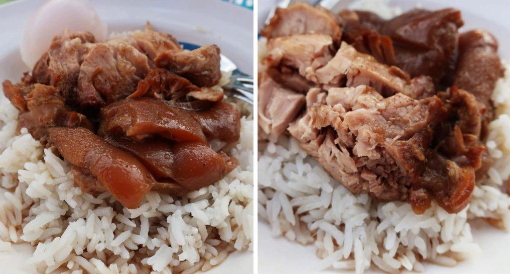 Chang Phueak Pork Leg Rice