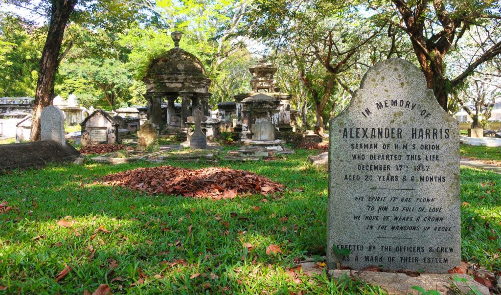 The Protestant Cemetery in Penang